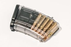 PUF GUN MAGAZINE TRANSPARENT FOR AK/SAIGA cal 7,62X39 10 RND